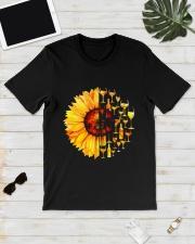 WINE SUNFLOWER Classic T-Shirt lifestyle-mens-crewneck-front-17