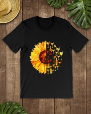 WINE SUNFLOWER Classic T-Shirt lifestyle-mens-crewneck-front-18