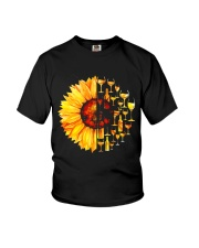 WINE SUNFLOWER Youth T-Shirt thumbnail