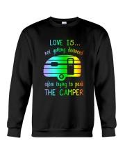 LOVE PARK CAMPER Crewneck Sweatshirt thumbnail