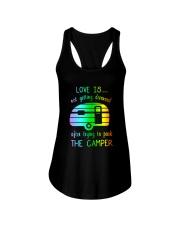 LOVE PARK CAMPER Ladies Flowy Tank thumbnail