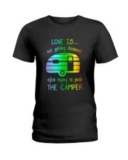 LOVE PARK CAMPER Ladies T-Shirt front