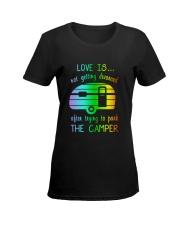LOVE PARK CAMPER Ladies T-Shirt women-premium-crewneck-shirt-front