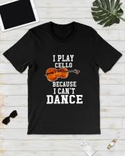 I CANNOT DANCE CELLO Classic T-Shirt lifestyle-mens-crewneck-front-17