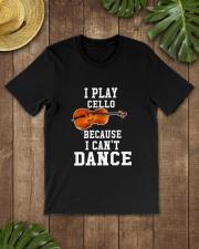 I CANNOT DANCE CELLO Classic T-Shirt lifestyle-mens-crewneck-front-18