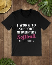 SOFTBALL ADDICTION Classic T-Shirt lifestyle-mens-crewneck-front-18