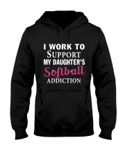 SOFTBALL ADDICTION Hooded Sweatshirt thumbnail