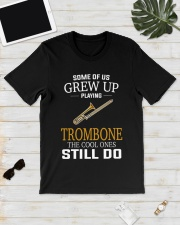 SOME OF US TROMBONE Classic T-Shirt lifestyle-mens-crewneck-front-17