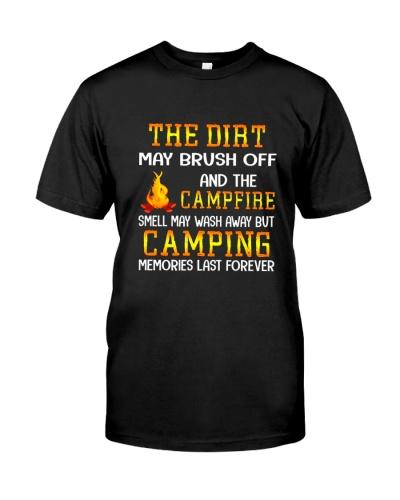 CAMPING DIRT CAMPFIRE BLACK