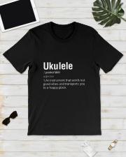 UKULELE HAPPY PLACE Classic T-Shirt lifestyle-mens-crewneck-front-17