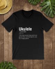 UKULELE HAPPY PLACE Classic T-Shirt lifestyle-mens-crewneck-front-18