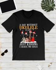 JUST KIDDING UKULELE Classic T-Shirt lifestyle-mens-crewneck-front-17
