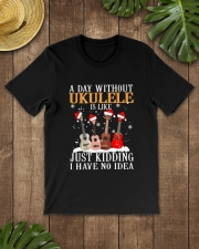 JUST KIDDING UKULELE Classic T-Shirt lifestyle-mens-crewneck-front-18