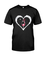 WINE HEART Classic T-Shirt front