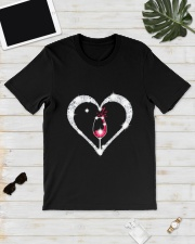 WINE HEART Classic T-Shirt lifestyle-mens-crewneck-front-17