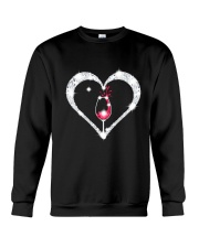 WINE HEART Crewneck Sweatshirt thumbnail