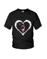 WINE HEART Youth T-Shirt thumbnail