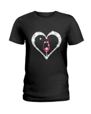 WINE HEART Ladies T-Shirt thumbnail