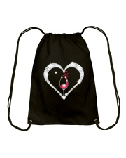 WINE HEART Drawstring Bag thumbnail