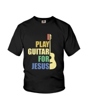 I PLAY FOR JESUS GUITAR Youth T-Shirt thumbnail