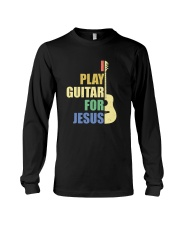 I PLAY FOR JESUS GUITAR Long Sleeve Tee thumbnail