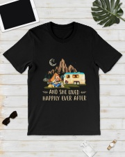 CAMPING HAPPILY EVER Classic T-Shirt lifestyle-mens-crewneck-front-17