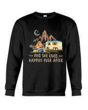 CAMPING HAPPILY EVER Crewneck Sweatshirt thumbnail