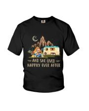 CAMPING HAPPILY EVER Youth T-Shirt thumbnail