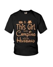 CAMPING HUSBAND Youth T-Shirt thumbnail