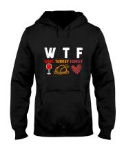 WINE TURKEY FAMILY Hooded Sweatshirt thumbnail