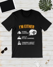 I EITHER CAMPING Classic T-Shirt lifestyle-mens-crewneck-front-17