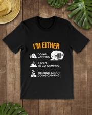 I EITHER CAMPING Classic T-Shirt lifestyle-mens-crewneck-front-18