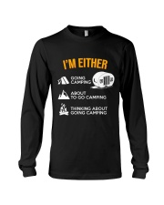 I EITHER CAMPING Long Sleeve Tee thumbnail