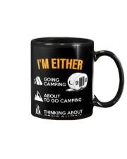 I EITHER CAMPING Mug thumbnail