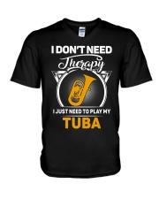 TUBA THERAPY V-Neck T-Shirt thumbnail