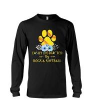 DOGS AND SOFTBALL Long Sleeve Tee thumbnail