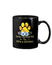 DOGS AND SOFTBALL Mug thumbnail