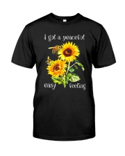 PEACEFUL FELLING Classic T-Shirt front