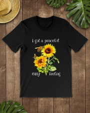 PEACEFUL FELLING Classic T-Shirt lifestyle-mens-crewneck-front-18