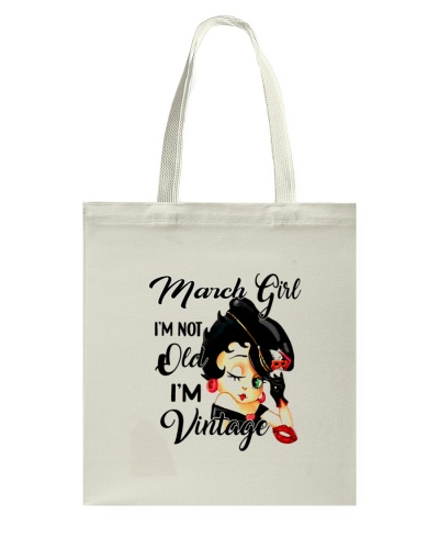 March GIRL VINTAGE