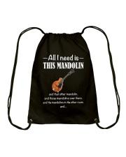 ALL I NEED MANDOLIN Drawstring Bag thumbnail
