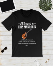 ALL I NEED MANDOLIN Classic T-Shirt lifestyle-mens-crewneck-front-17