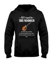 ALL I NEED MANDOLIN Hooded Sweatshirt thumbnail