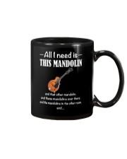ALL I NEED MANDOLIN Mug thumbnail