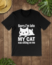 CAT SITTING ON ME Classic T-Shirt lifestyle-mens-crewneck-front-18