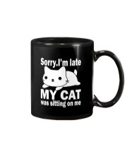 CAT SITTING ON ME Mug thumbnail