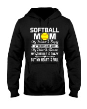 SOFTBALL MOM FULL Hooded Sweatshirt thumbnail