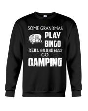 REAL GRANDMAS GO CAMPING Crewneck Sweatshirt thumbnail