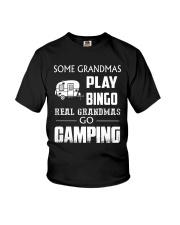 REAL GRANDMAS GO CAMPING Youth T-Shirt thumbnail