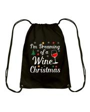 DREAM WINE Drawstring Bag thumbnail